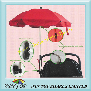 Baby Car Umbrella for Stroller, Pram, Carriage, Buggy (WTL056)