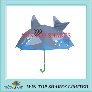 Innovation popular little shark kid umbrella