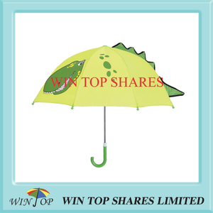 Creative fashion little dinosaur design children parasol