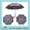 Italy type check design auto stick Umbrella parasol