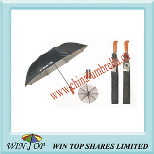 "23"" Auto 2 Folds Promotion Umbrella for Korean Air"