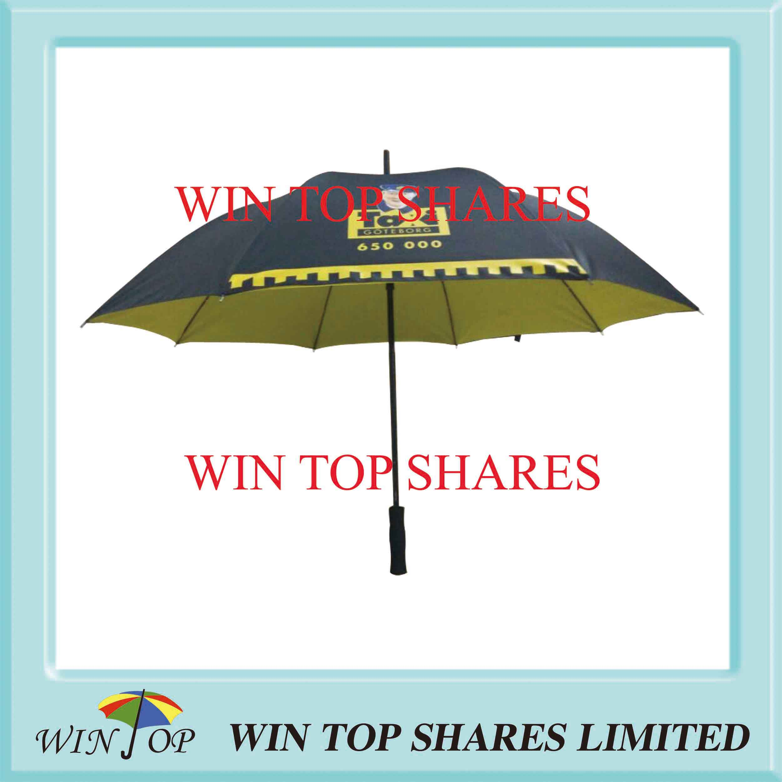 Double Canopies Golf Gift Umbrella with Logo