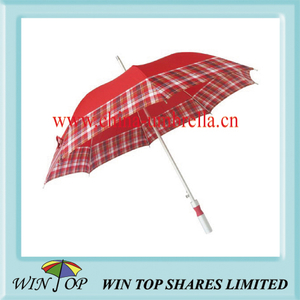 "23"" X 8 Ribs Auto Aluminum Fashion Umbrella"