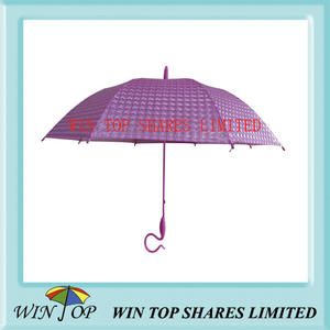 "23"" Fashion Stick 3D Poe Umbrella (WTP087)"