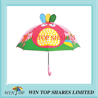 Creative fashionable Pineapple bird kid Umbrella