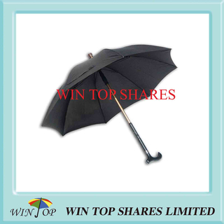 Heavy Duty Strong Steel Elder Stick Umbrella