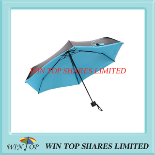 Elegant ladies small 5 section UV protection umbrella manufactory