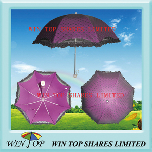 2 Folds Japan Pattern Ladies Parasol