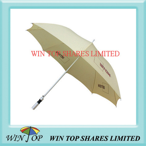 Auto Straight Umbrella with Aluminum Handle