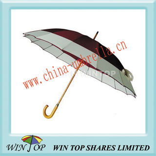"23"" Manual Straight Wooden Umbrella Production (WT1038)"
