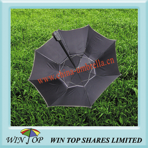 "23"" 2 Fold Manual Windproof Umbrella"