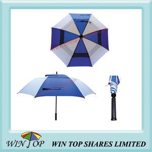 Double Canopy Super Strong Golf Umbrella (WT6048)