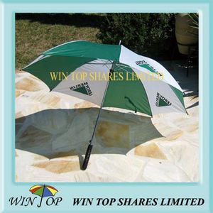 "23"" Auto Straight Advertising Leroy Merlin Umbrella"
