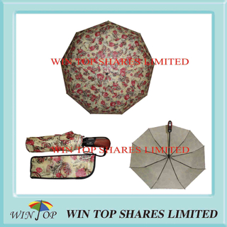 Top Quality Auto Open and Close Folding Umbrella (WT3353)