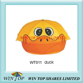 "18"" Stylish Duck Cartoon Umbrella"