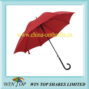 Auto Straight Crystal Girl Umbrella (WT1305)