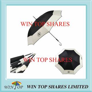 Advertisement Logo Umbrella with Crystal J Handle