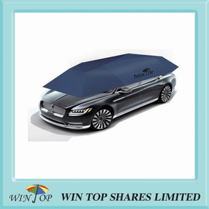 Innovative Remote control auto car tent and car shed