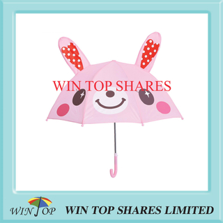 Innovation Fashionable Caring Rabbit Children Parasol