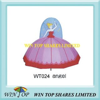"18"" Dancing Princess Design Umbrella"