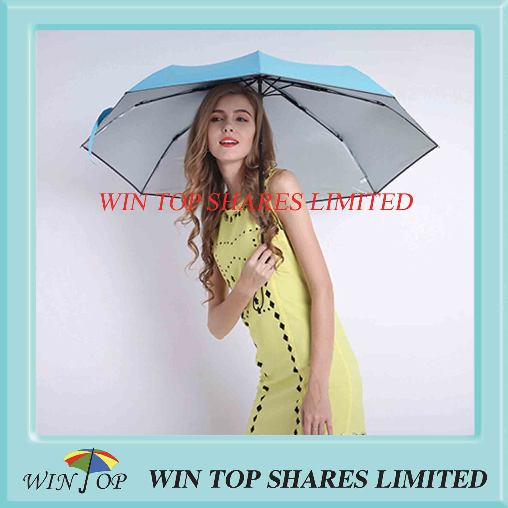 3 folds Anti UV lady Umbrella